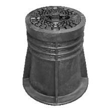 Ковер  для бесколодезной задвижки нерегул. Jafar 9501 (пластик)