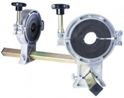 Позиционер двойной д.063-180 мм, сменные вкладыши 63, 90, 110, 125, 160 мм, поворотная рама