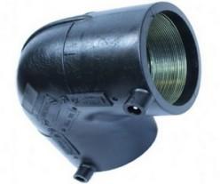 Отвод э/с 90гр. ПЭ 100 SDR 11 - d. 63 RADIUS