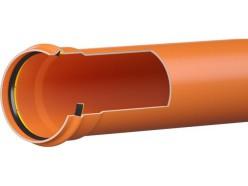 Труба НПВХ SN4 250х6,2х1200 ПРО