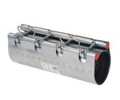 Муфта ремонтная Clamp d.132 (132-142) STRAUB NBR/ES, 1 замок, L=200, 381-132-200