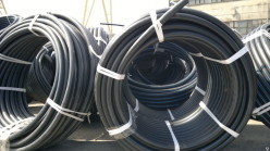 Труба ПЭ 100 SDR 17 - 75х4,5 питьевая (бухты по 200)