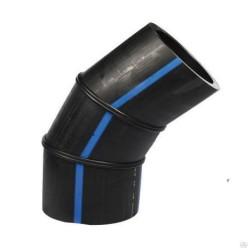 Отвод сварной 60 гр. ПЭ 100 SDR 17 - d. 400