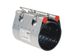Муфта ремонтная Clamp d.118 (118-128) STRAUB NBR/ES, 1 замок, L=300, 381-118-300