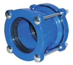 Муфта для стальных и чугунных труб 100 (106-132) PN16 Jafar 9151