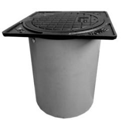 Ковер  для вантуза нерегулируемый JAFAR 9806 (пластик)