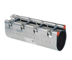 Муфта ремонтная Clamp d.100 (100-120) STRAUB NBR/ES, 2 замок, L=400, 382-100-400